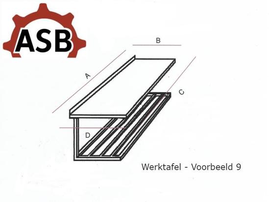 Afbeeldingen van Werktafel RVS - Voorbeeld 9
